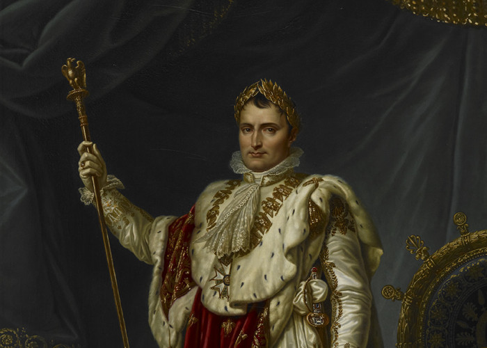 Napoleon was emperor quite frankly because he said he was