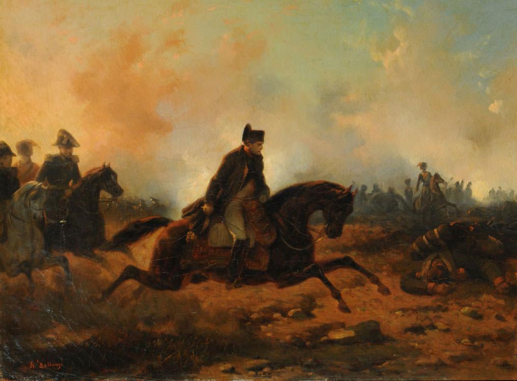 Napoleon's aggressive style of warfare made him a fearsome conqueror