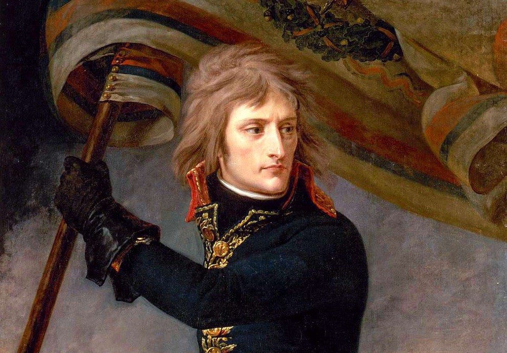 Especially early in his career Napoleon led from the front to inspire confidence in his men