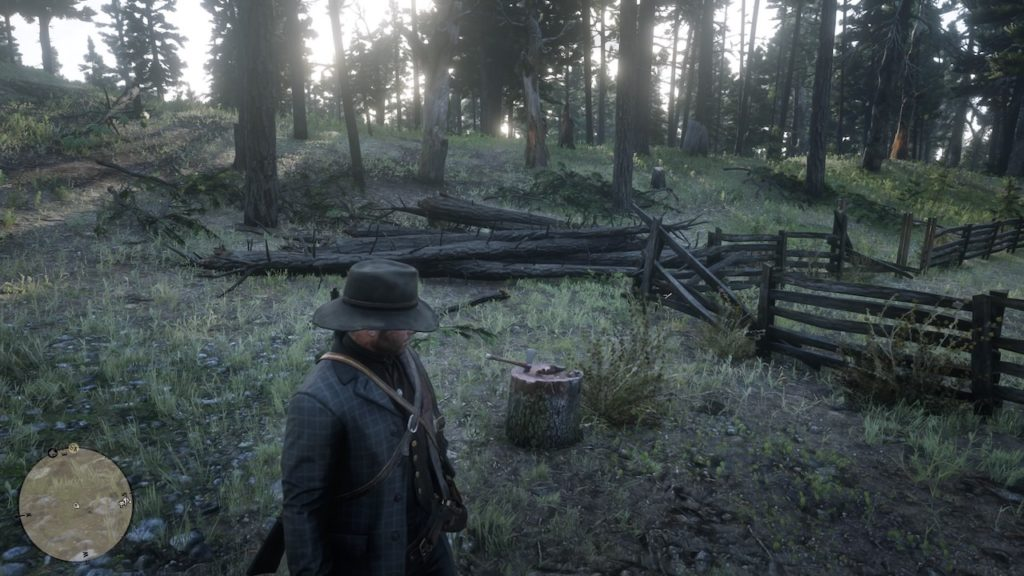 red dead redemption 2 abandoned cabin