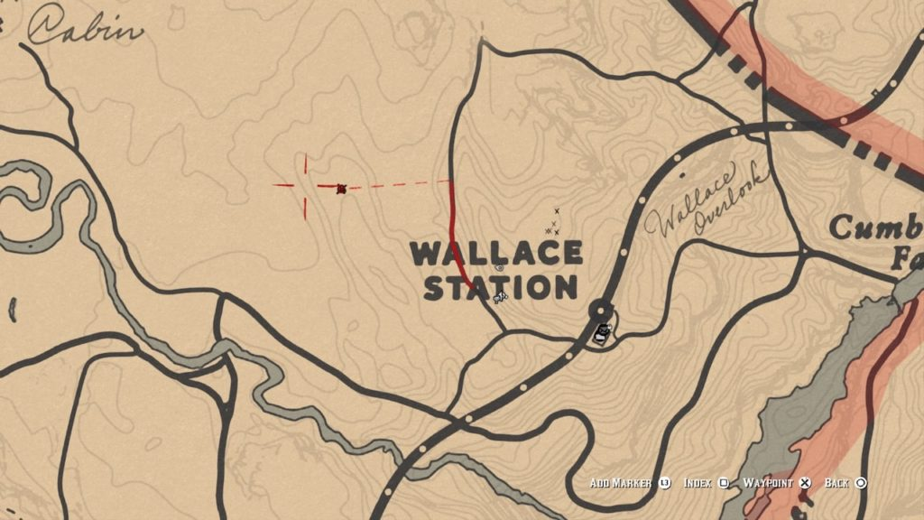 red dead redemption 2 double bit map