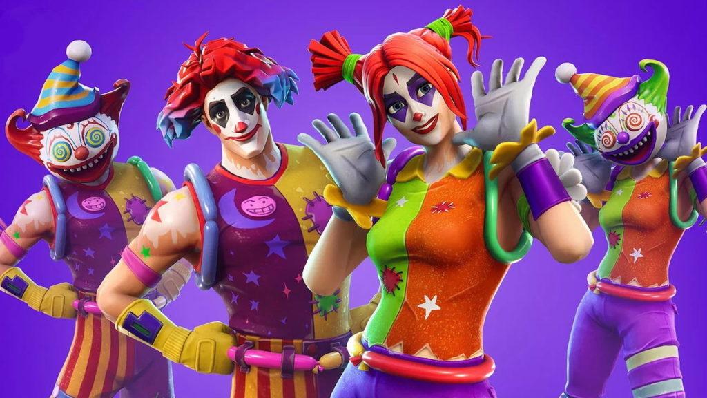 fortnite clown skins