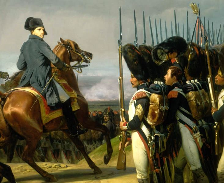 Napoleon was master of gauging the enemy weak points