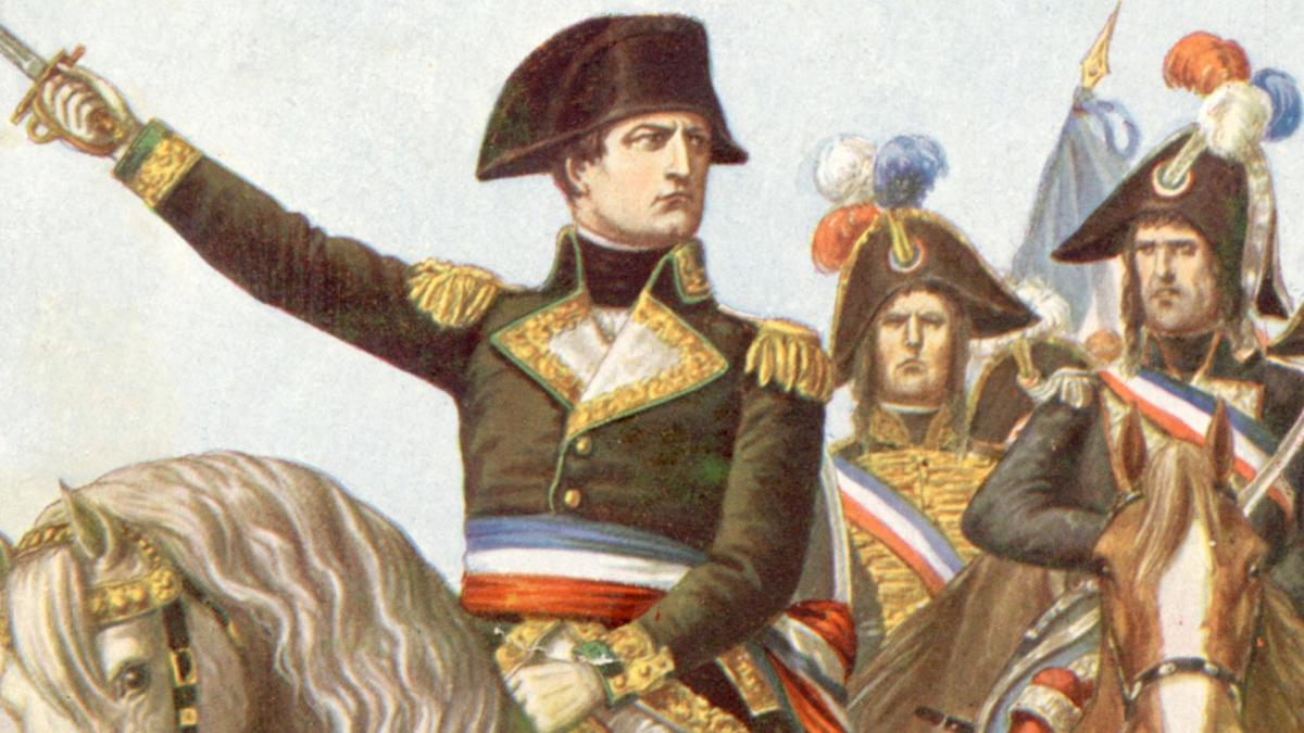 Bonaparte took inspiration from only the greatest influences