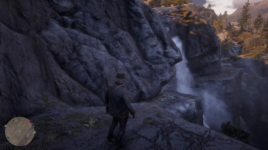 red dead redemption 2 cliffs