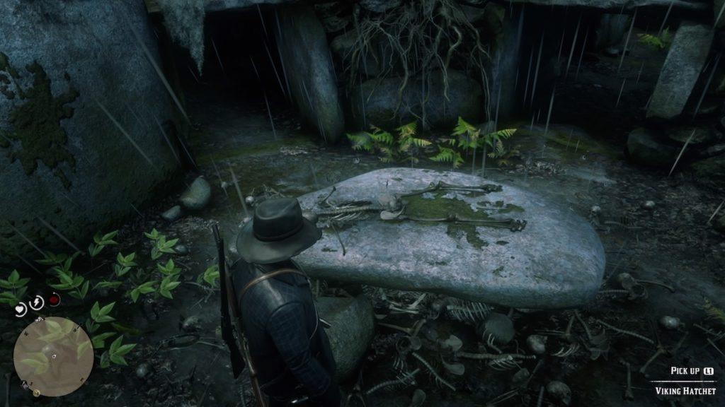 red dead redemption 2 viking burial ground
