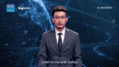 China unveils virtual AI news anchor