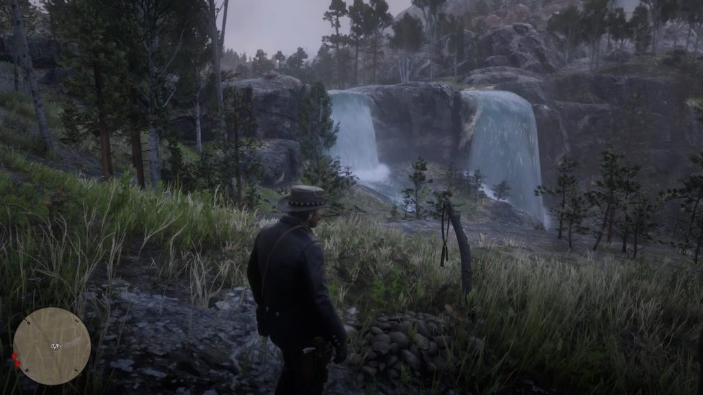 red dead redemption 2 eagle flies grave