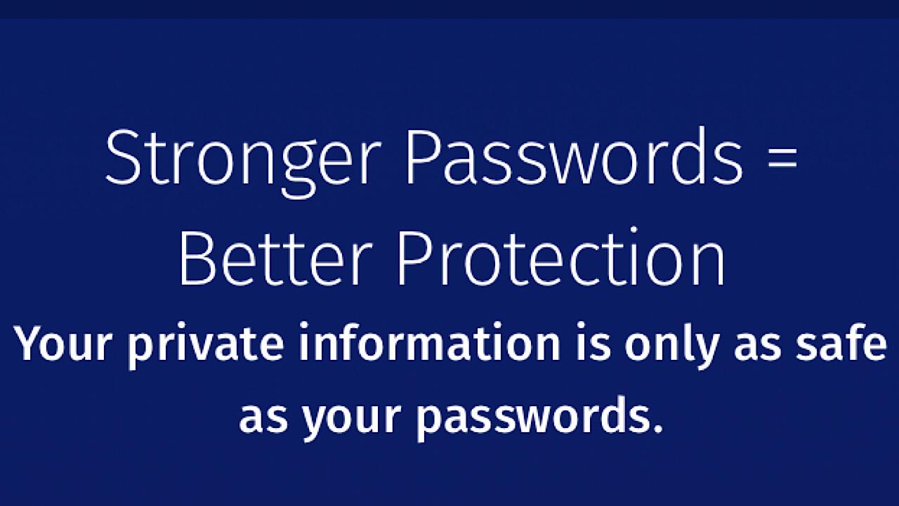 Firefox Monitor passwords