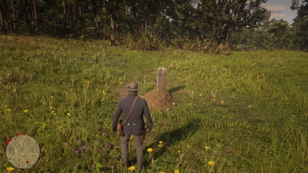 red dead redemption 2 kieran grave