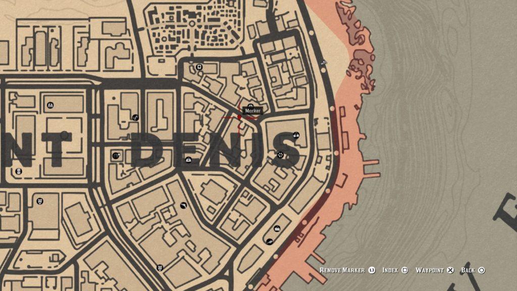 red dead 2 saloon graffiti map
