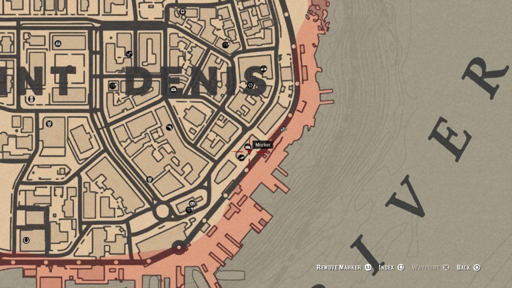 red dead 2 butcher graffiti map