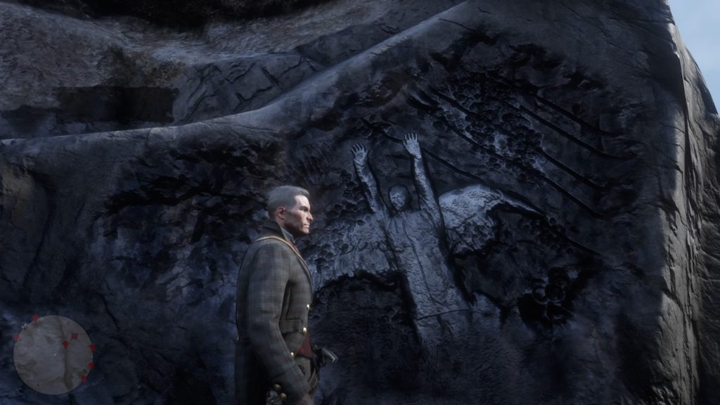 red dead 2 cumberland forest carving