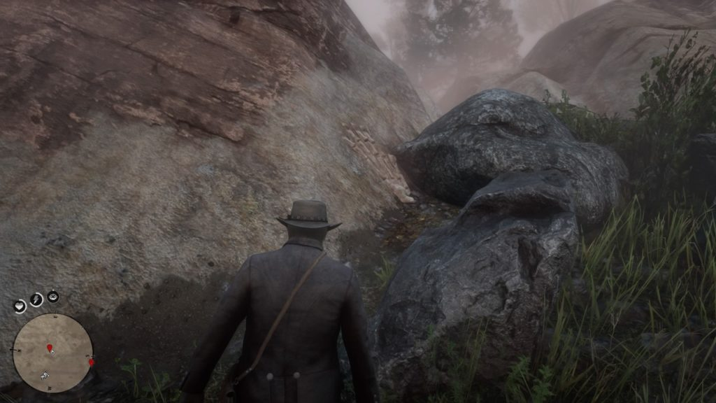 red dead 2 donner falls bone