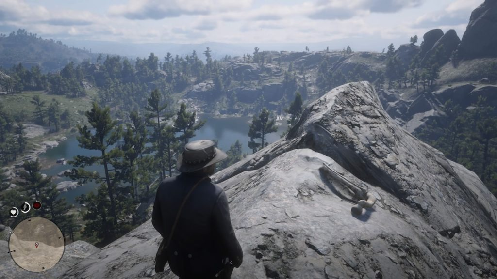 red dead 2 grizzlies east mountain bone