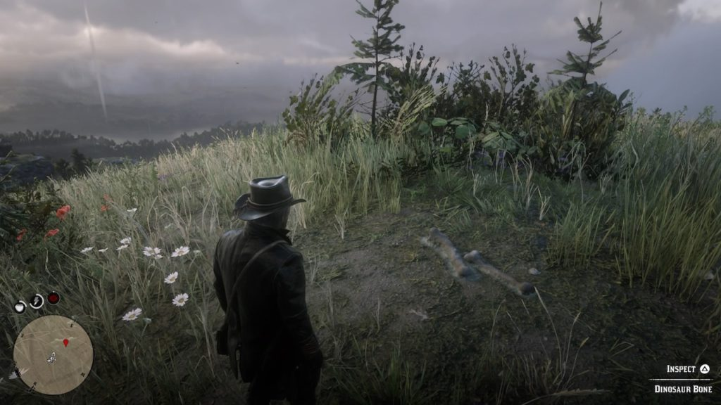 red dead 2 grizzlies north hilltop bone