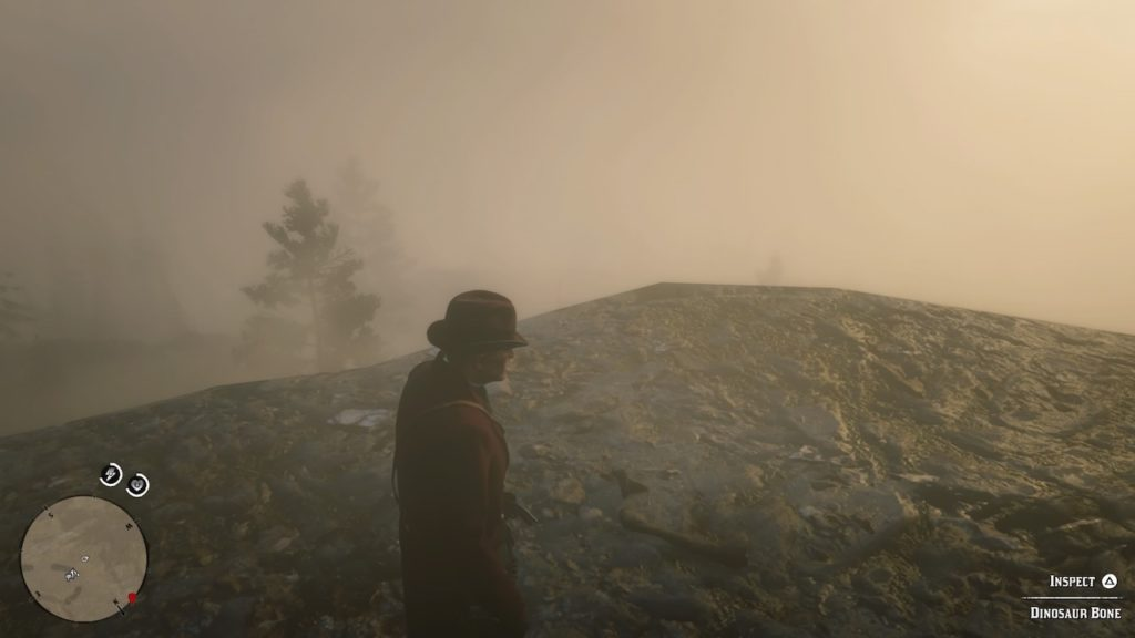 red dead 2 mount shann slopes bone