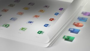 new microsoft office updated icons