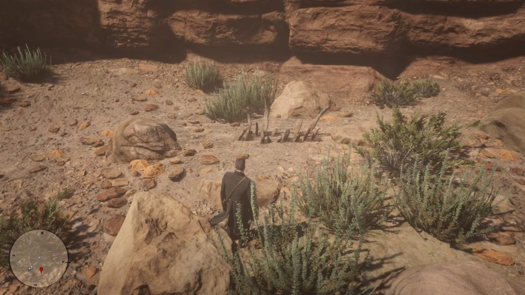 red dead 2 pike's basin bone