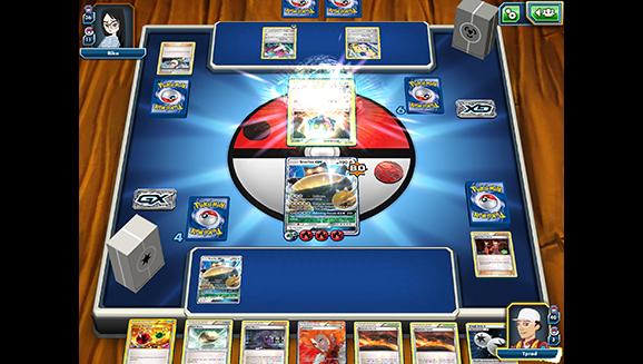 Pokemon TCG setup