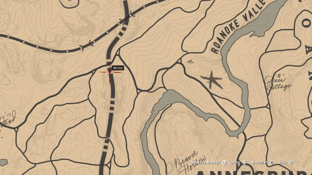 red dead 2 roanoke valley border dino bone map
