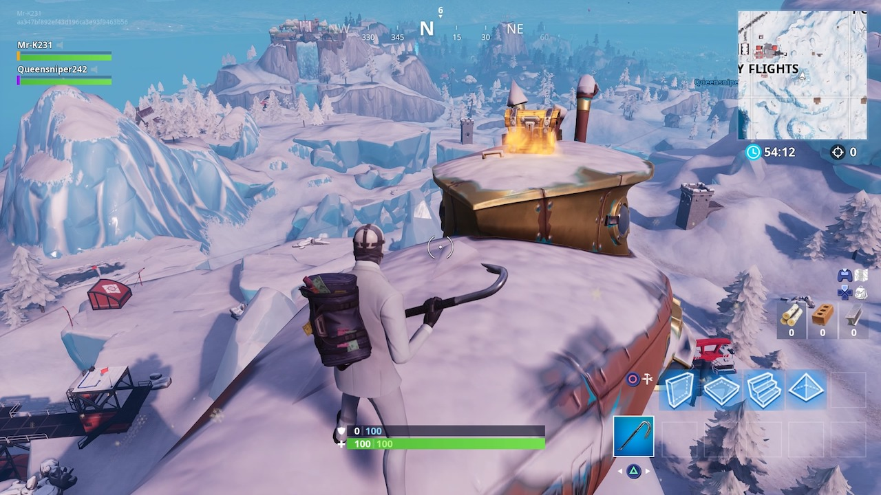 Fortnite S7 Dance On A Crown Of Rvs Challenge Guide With Map