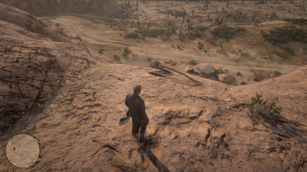 red dead 2 tumbleweed south bone