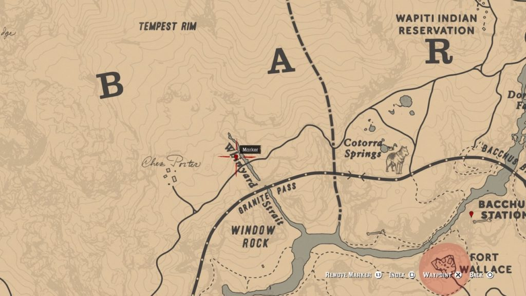 red dead 2 whinyard strait carving map