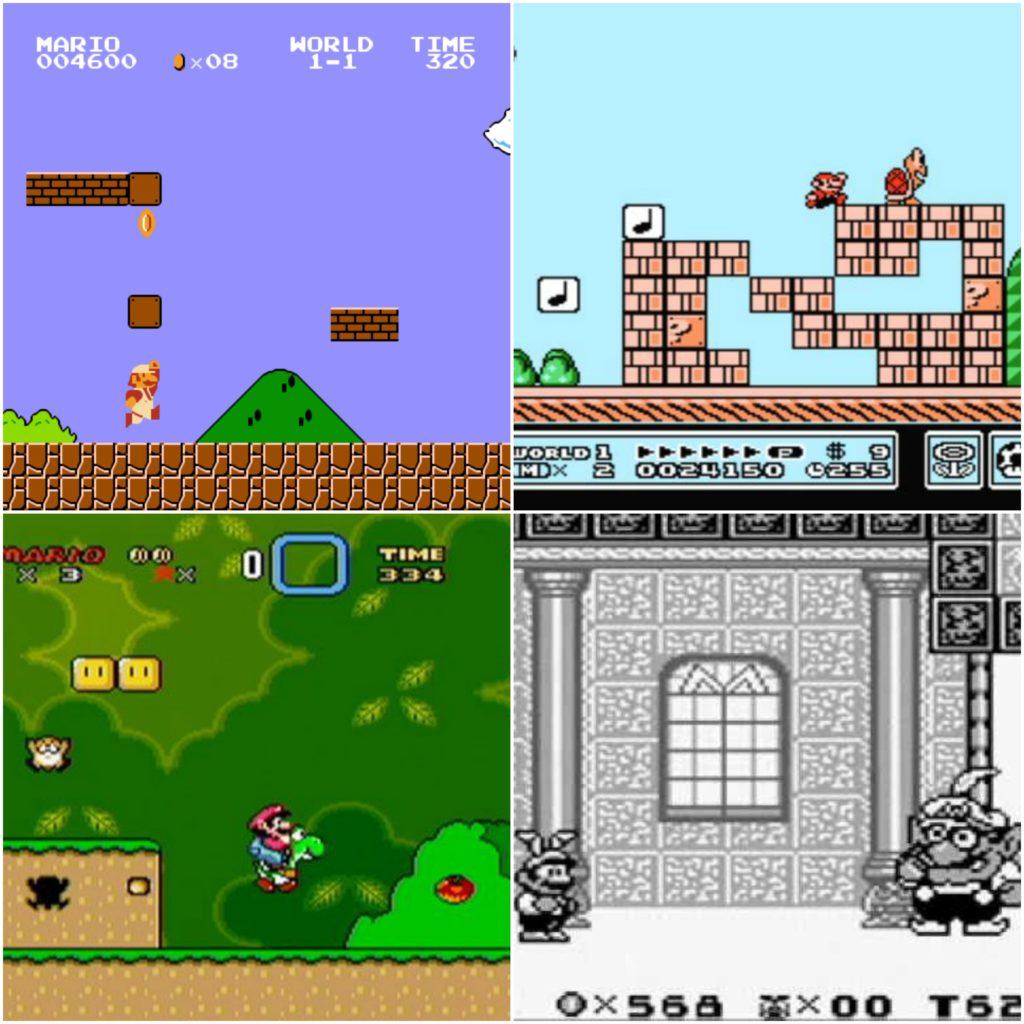 Classic Mario games