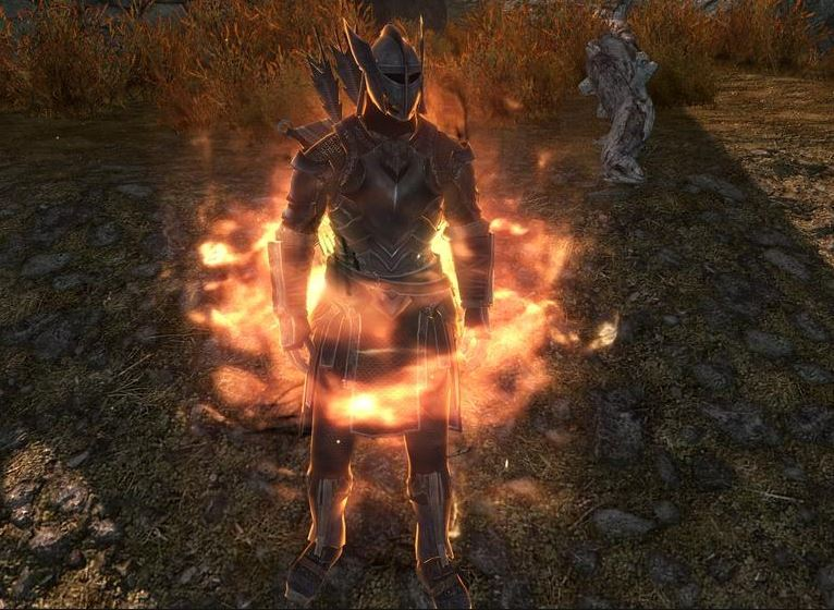 flame cloak but weaker