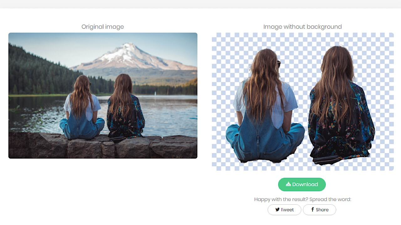 Remove.bg group example pic