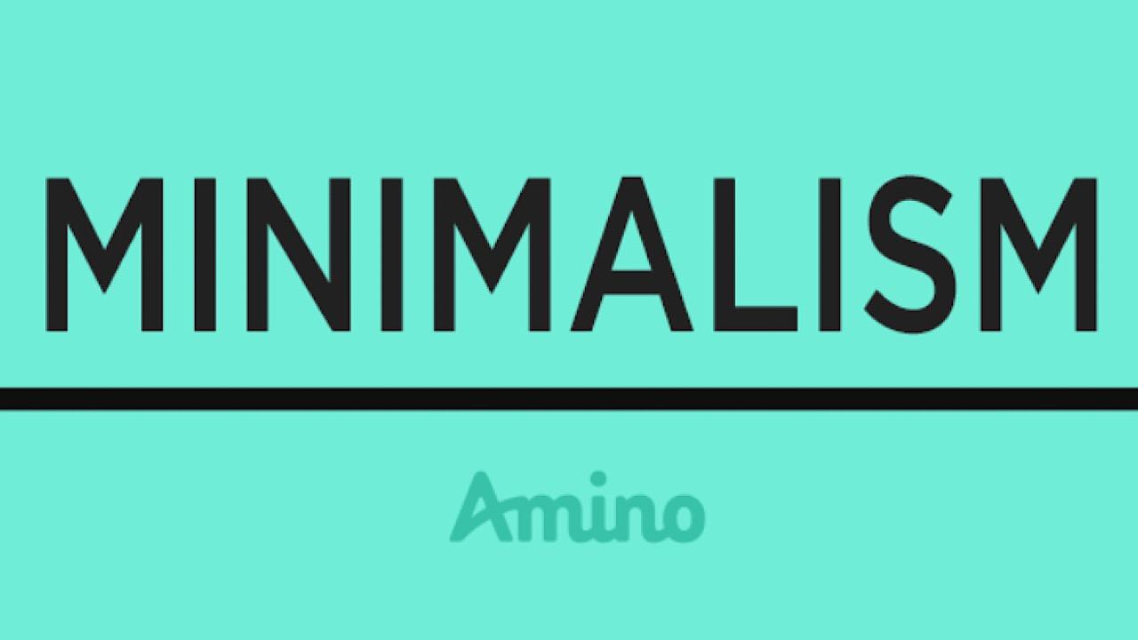 Minimalism amino logo