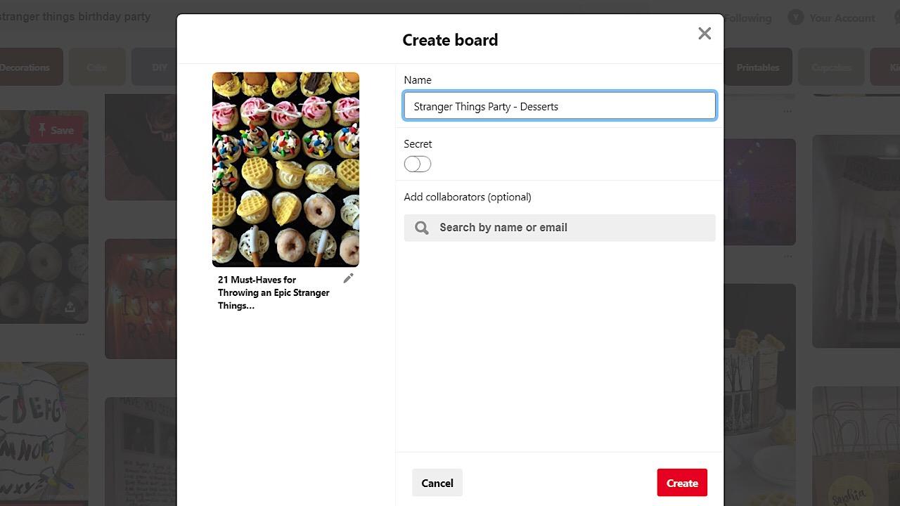 Pinterest screenshot 7