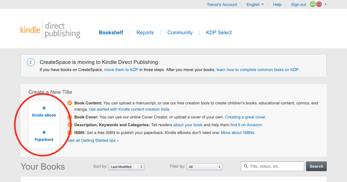 How to self publish with Kindle Direct Publishing