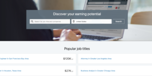 Linked in salary tool
