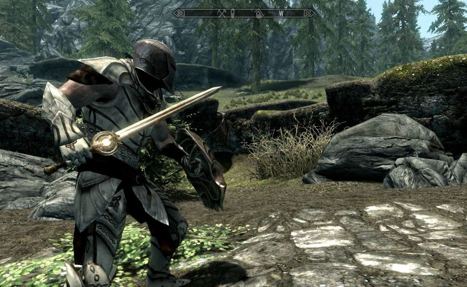Skyrim Paladins destroy Draugr crypts
