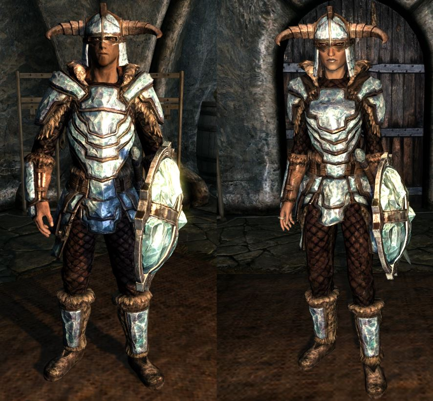 Stalhrim armor is a top-tier armor right up there with dragonbone or daedric