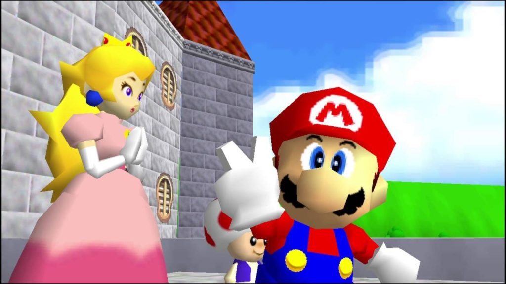 How games transitioned from 2D to 3D