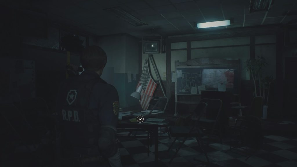 resident evil 2 ops room