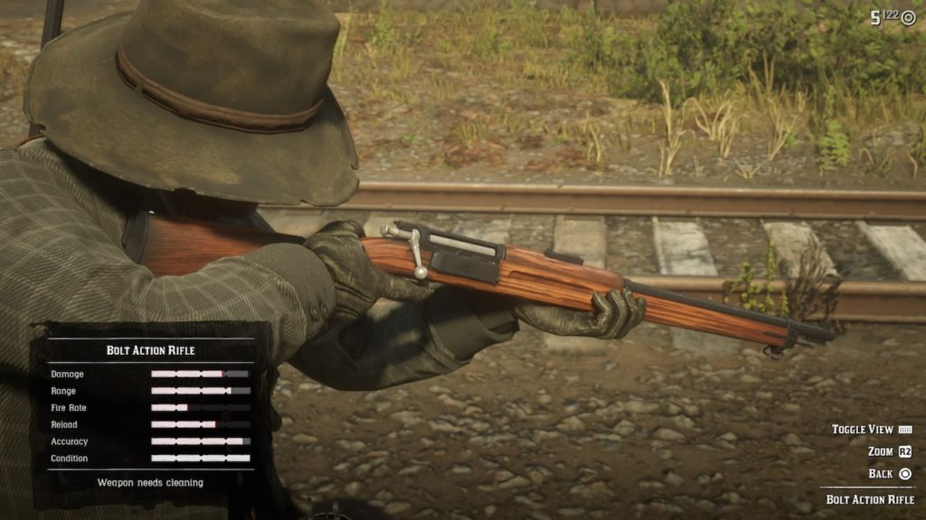red dead 2 bolt action