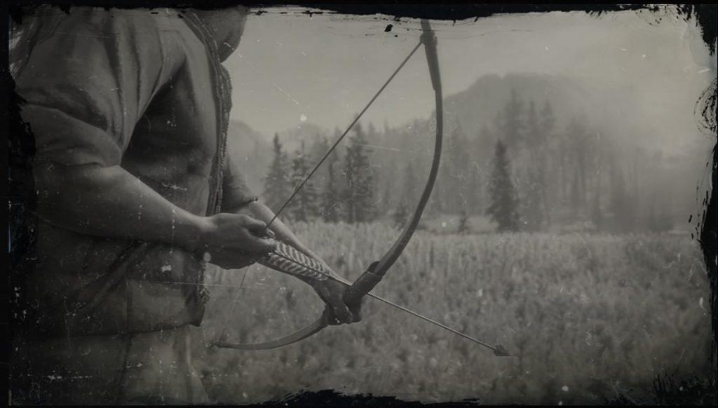 rdr2 bow and arrow