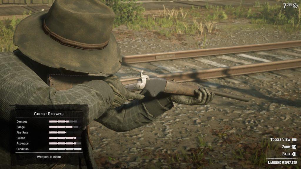 red dead 2 carbine repeater
