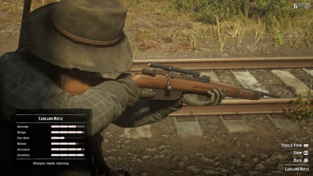 red dead 2 carcano
