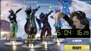 Fortnite streamer nets $2,000 by dabbing for 10 straight hours