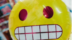 A weird time in punctuation: navigating emoji and exclamation points