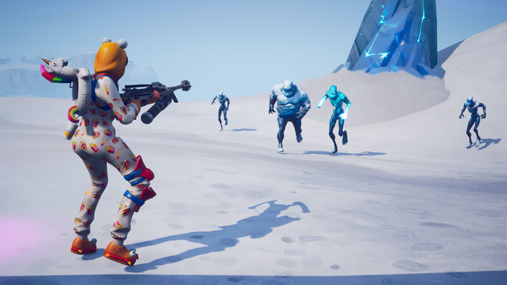Fortnite - Battle Ice Monsters