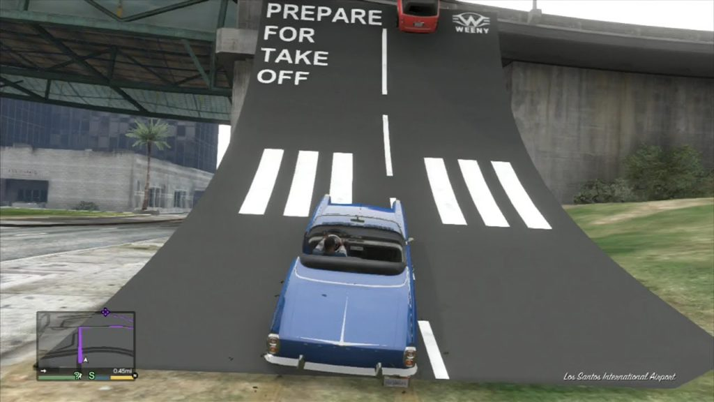 This ramp in GTA V is more fun than many full games