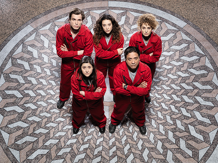 Netflix Money Heist hostages
