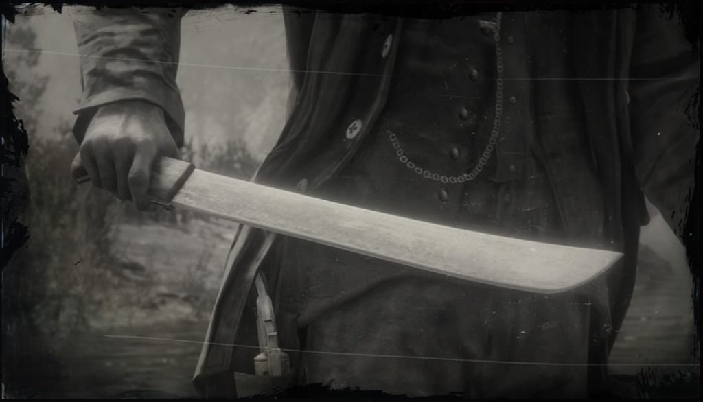 rdr2 machete