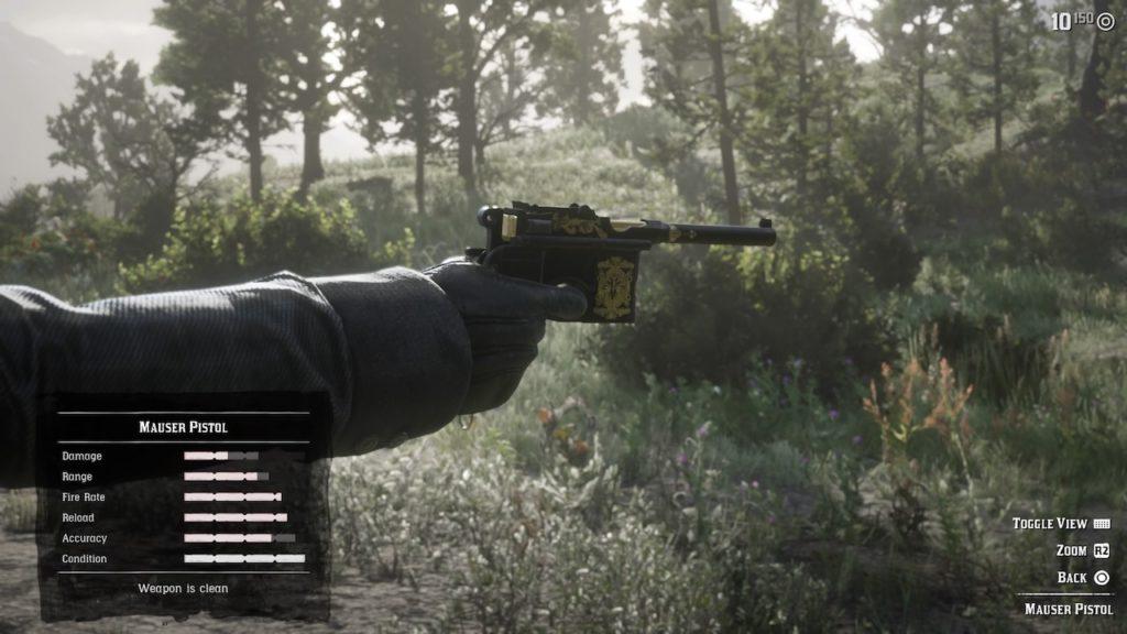 Результат пошуку зображень за запитом Mauser Pistol Red Dead Redemption